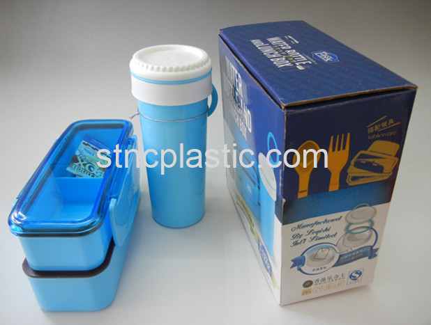 LUNCH BOX WITH WATER BOTTLE