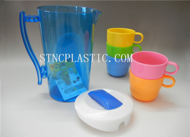 WATER PICHER SET W. CUP