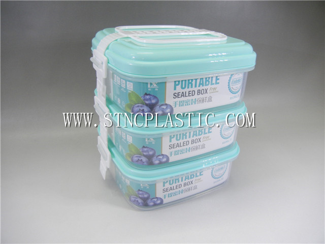 3-LAYER FRESH KEEPING FOOD BOX 2.55L