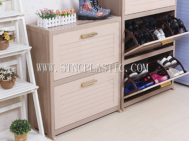 2-TIER SHOES CABINET