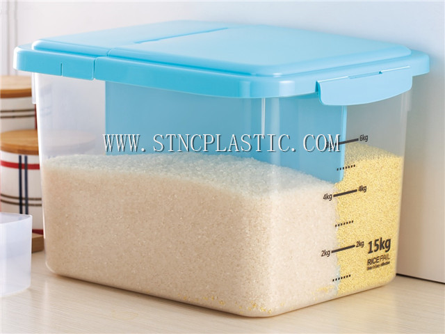 Rice Containers Storage Box Plastic