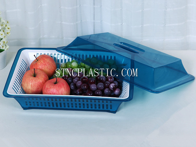 Rectangular Sieve W Tray And Lid S