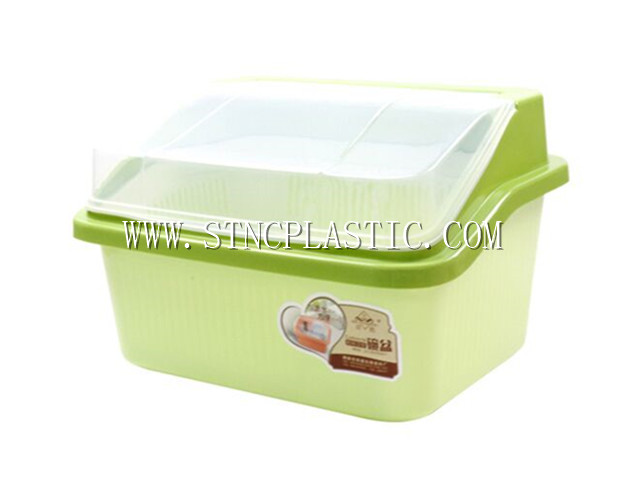 Kitchen cutlery holder w lid m for Cutlery storage with lid