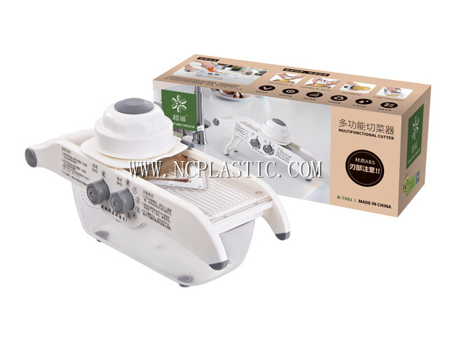 ABS multifuctional food cutter with 304 stainless steel blade